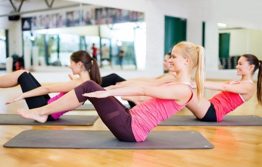Организация тренировок для похудения живота