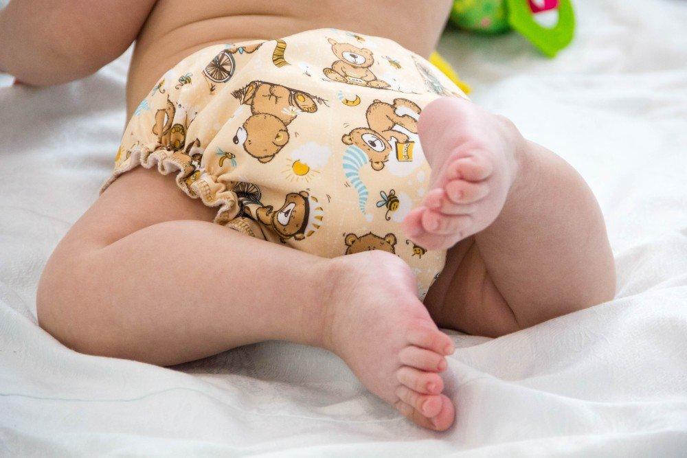 Выбираем малышу многоразовый подгузник по размеру