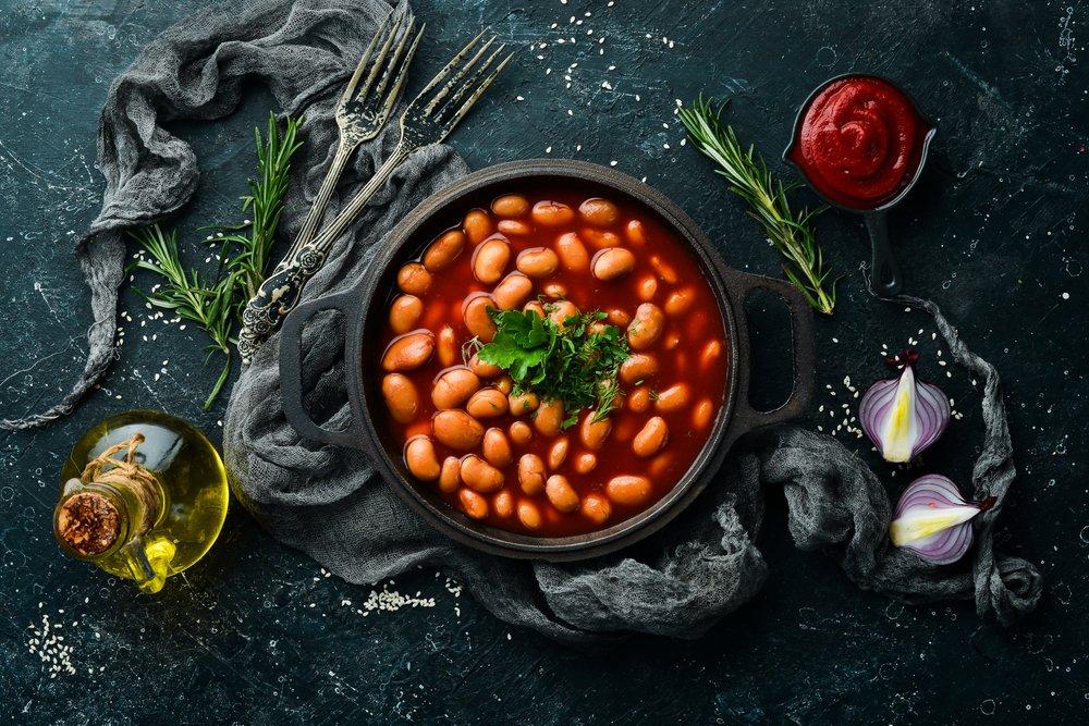 Рецепт фасоли в томате