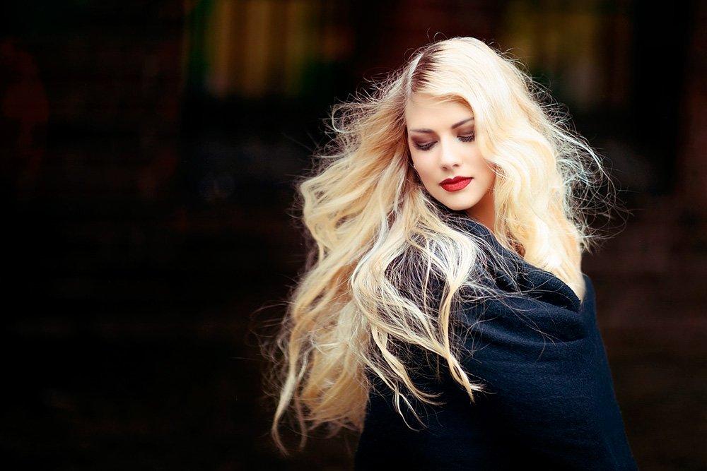 Состояние волос после обесцвечивания