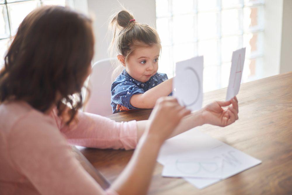 Родители лицом к ребенку