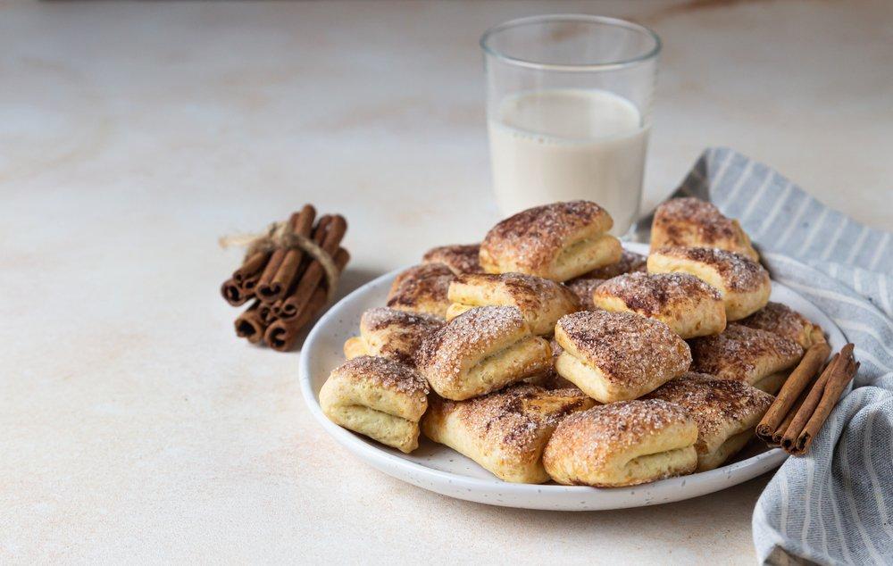 Классический рецепт печенья творожного «треугольники»