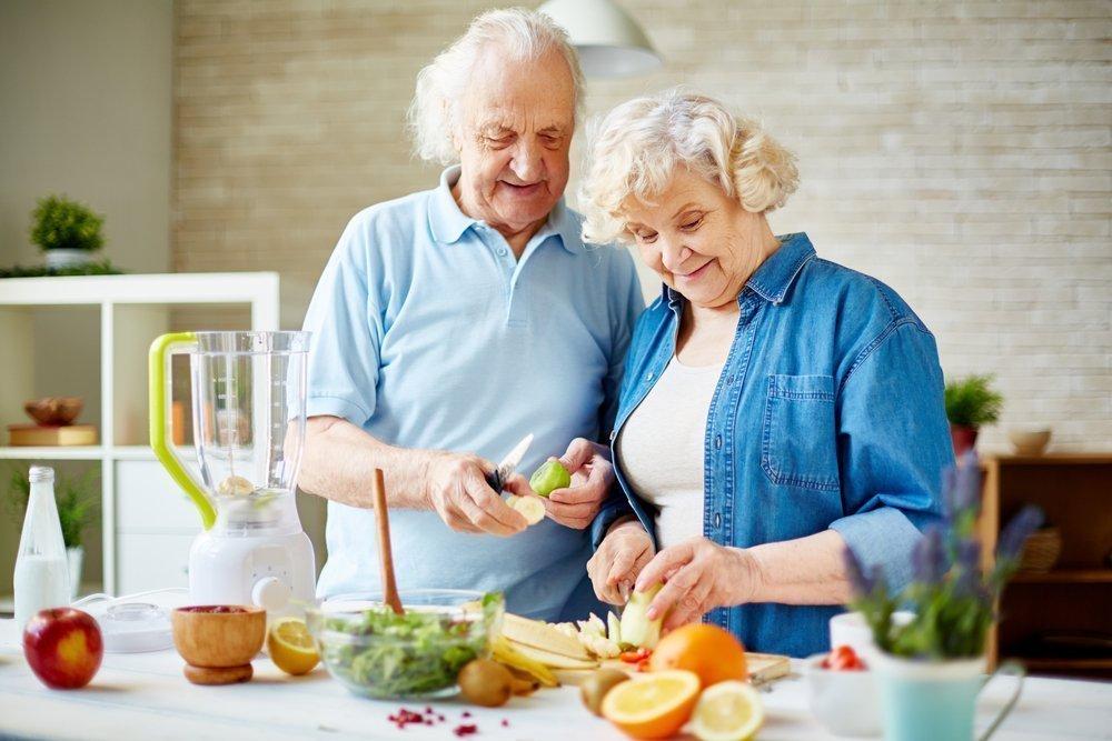 Правила питания для людей в возрасте