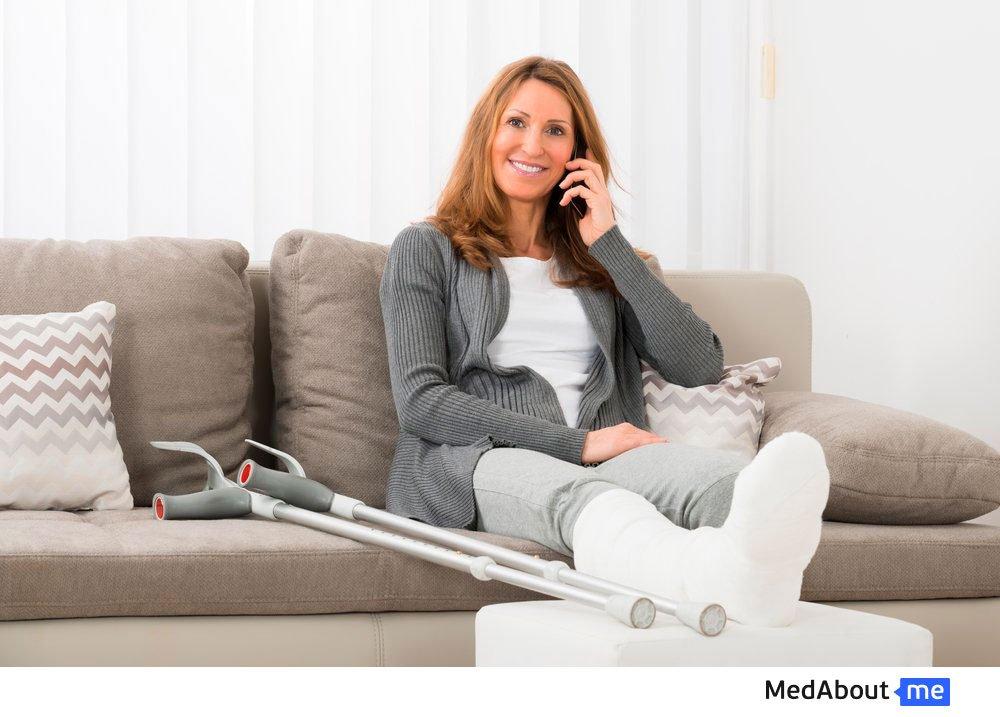 Переломы костей у женщин