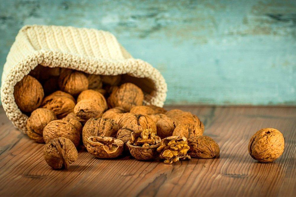 Грецкие орехи как обязательная составляющая ежедневного рациона питания