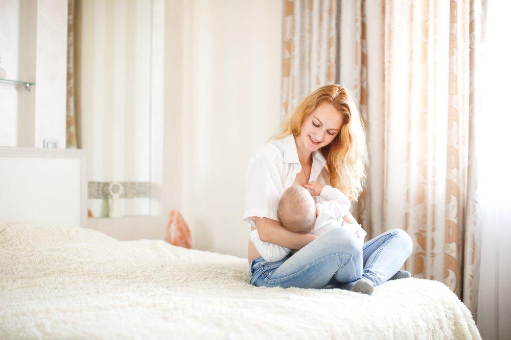 Малыша может защитить молоко