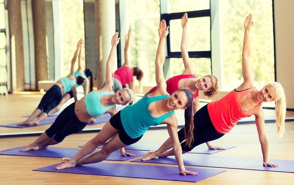 Упражнения пилатеса для начинающих