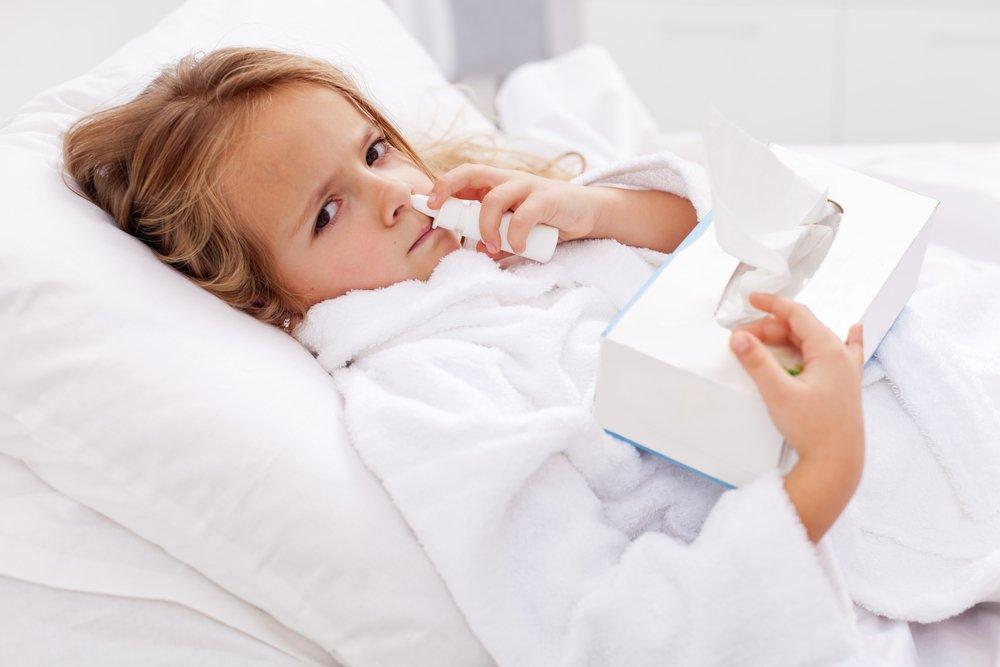 Лекарства для облегчения носового дыхания у детей