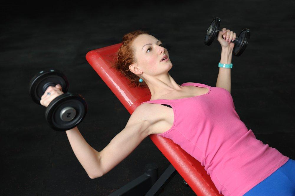 Работа над мускулатурой груди