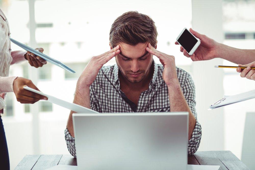 Проблема стресса на работе