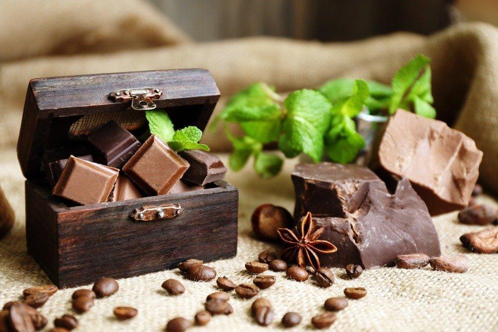 Миф о минеральных веществах в шоколаде