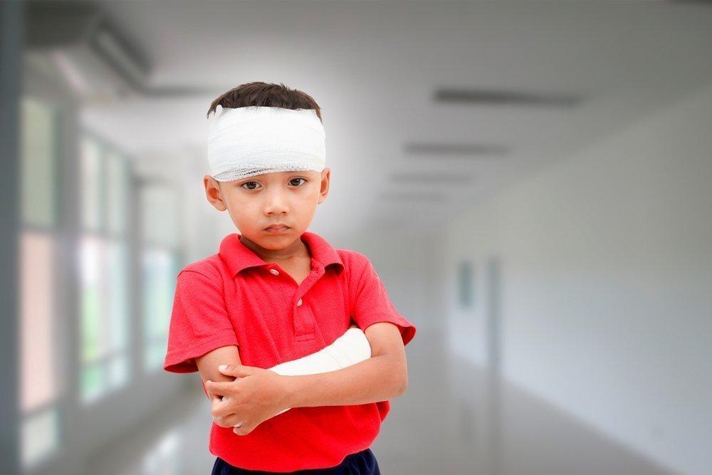 Виды и особенности травматизма у детей дошкольного возраста