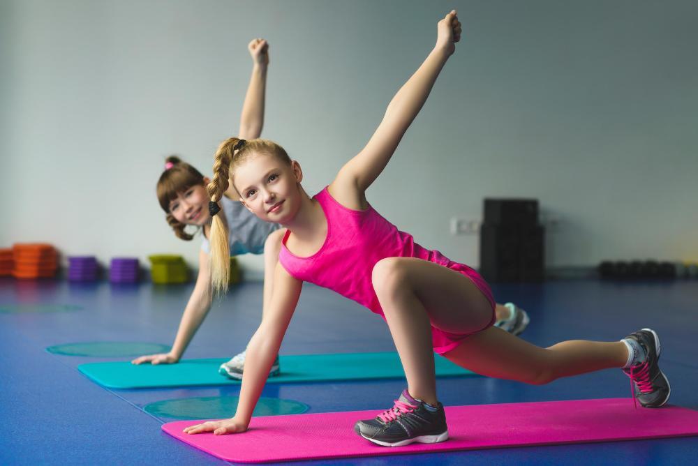 Распределение детей по фитнес-группам