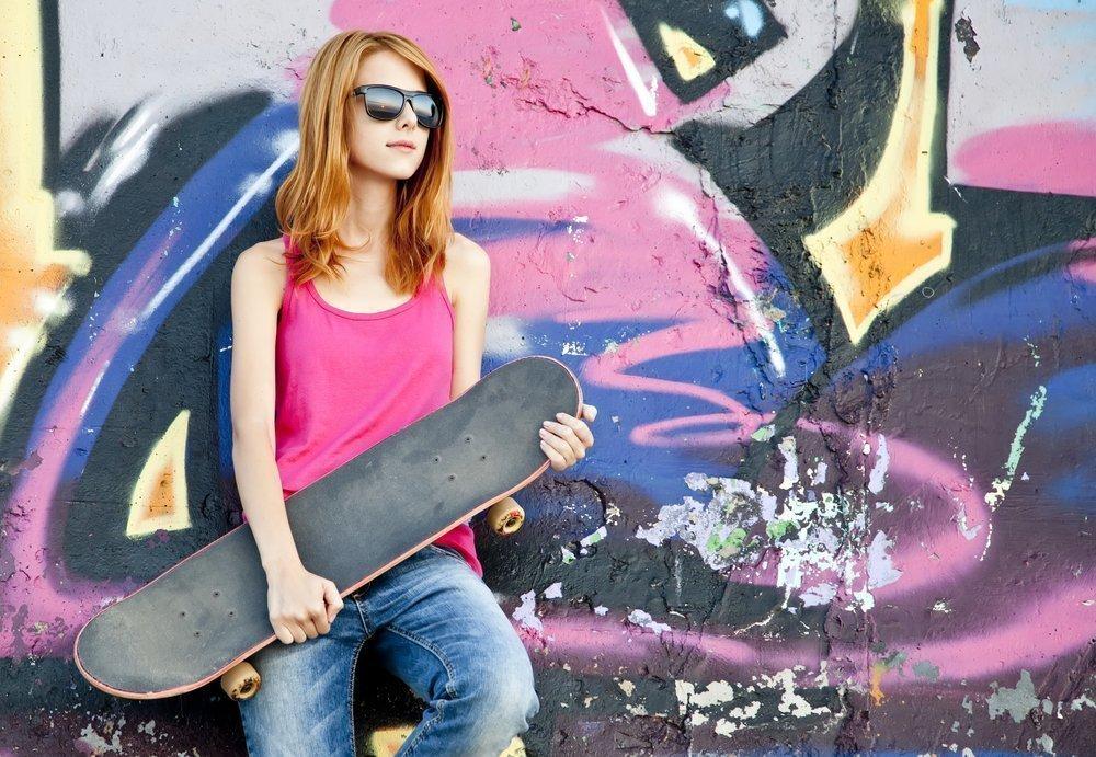 Скейтбординг — уличный спорт