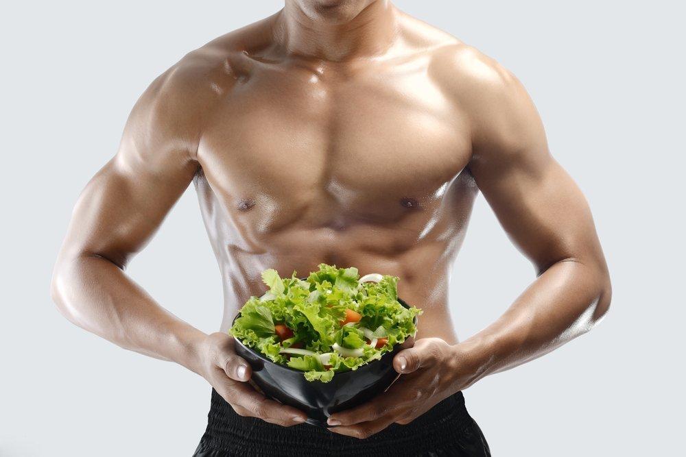 Похудение для мужчин: принципы питания и режим дня