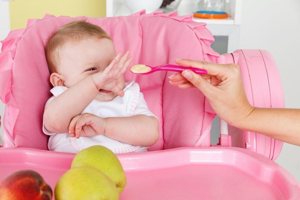 Соблюдение родителями «рекомендованных объемов» порций детского питания