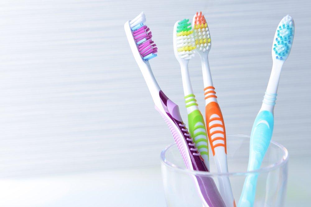 Размеры зубной щетки