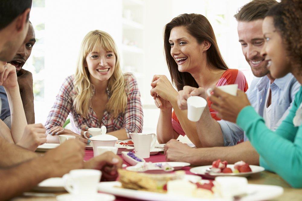11. Вам нравится проводить время с друзьями