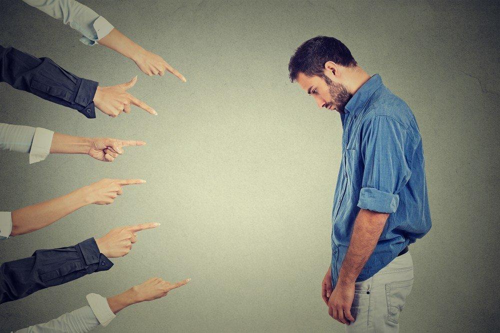 Причины негативных эмоций и заниженной самооценки