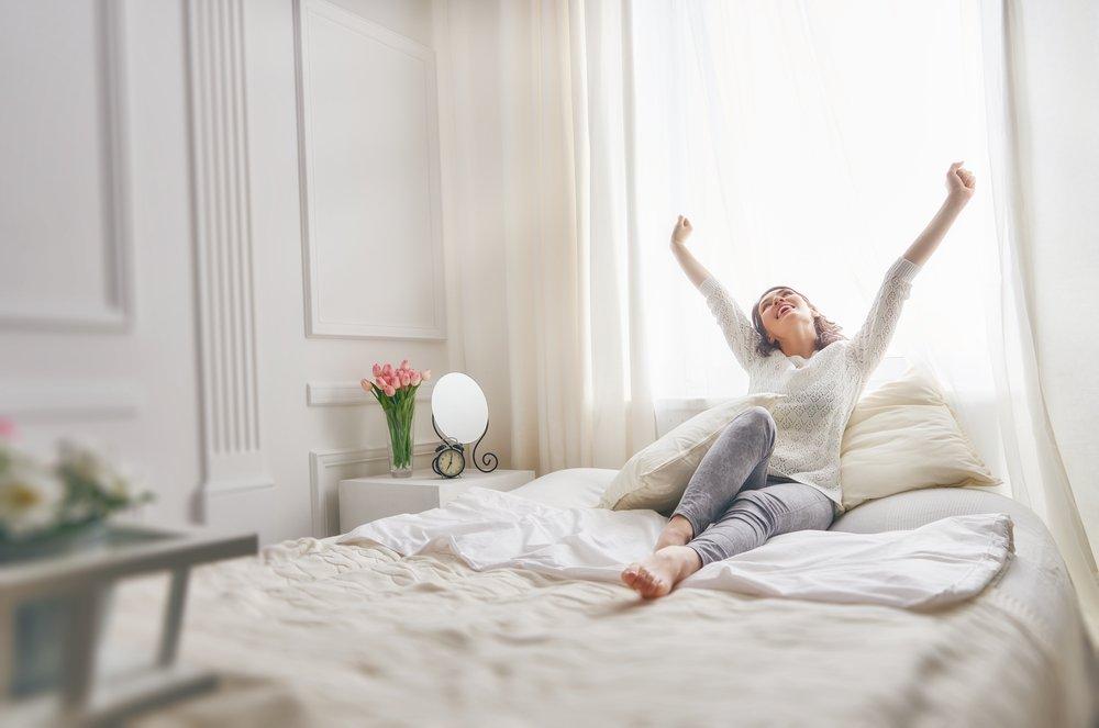 Упражнения после сна