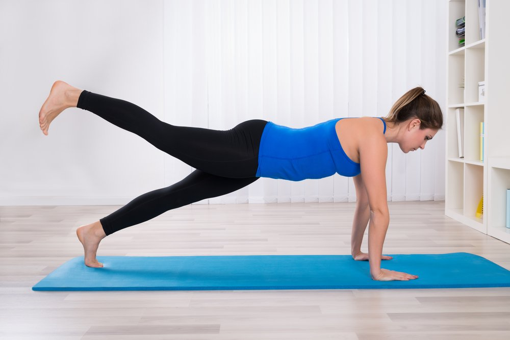 Комплекс упражнений для мышц туловища: планки