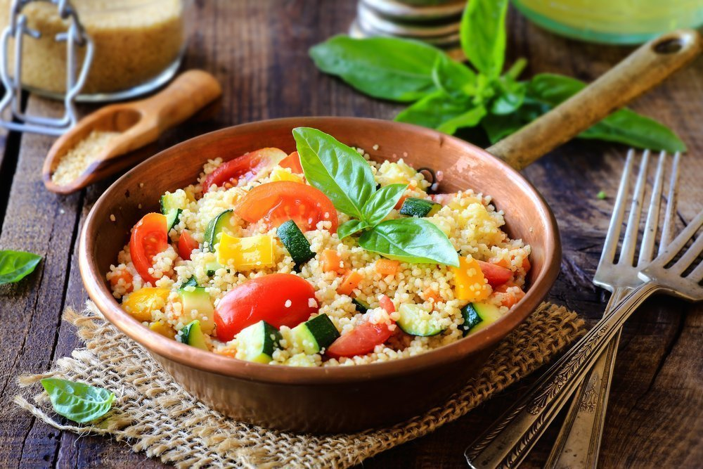Крупы и овощи как базовая основа питания