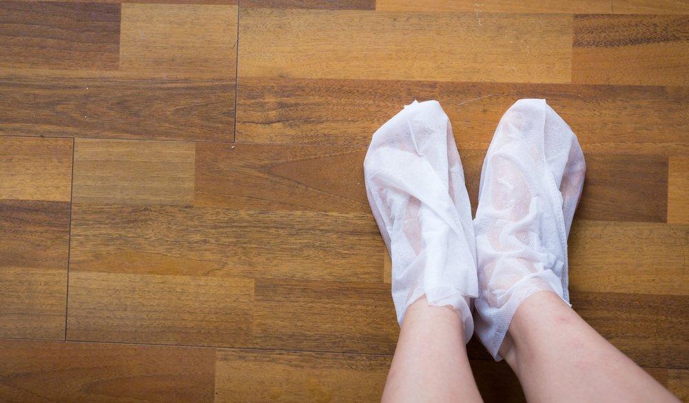 Открытие века — педикюрные носочки