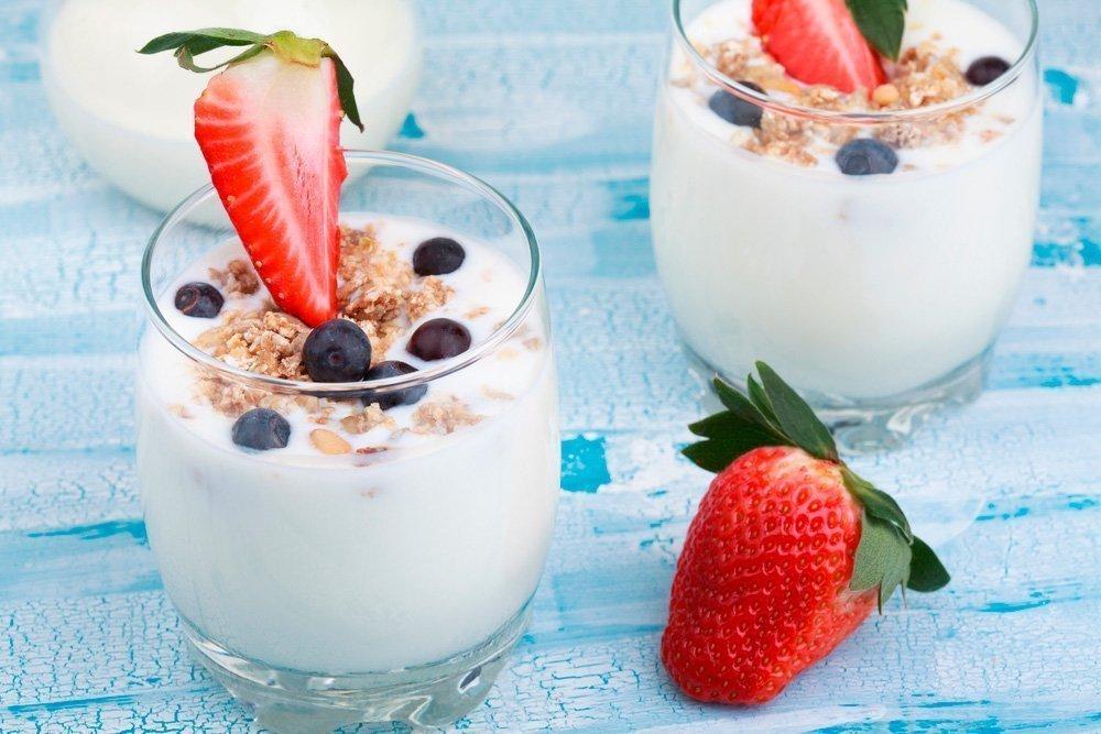 Рецепты с йогуртом для здоровья