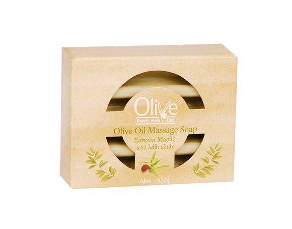 Массажное оливковое мыло Olive Beauty Medi Care