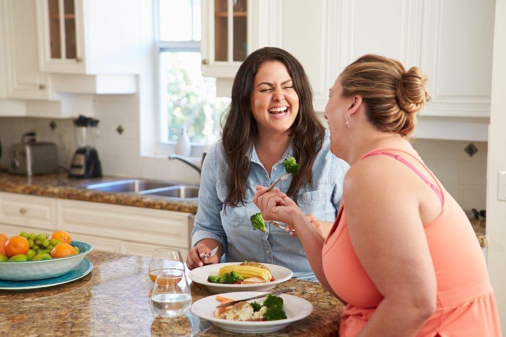 Психологическая помощь на диете