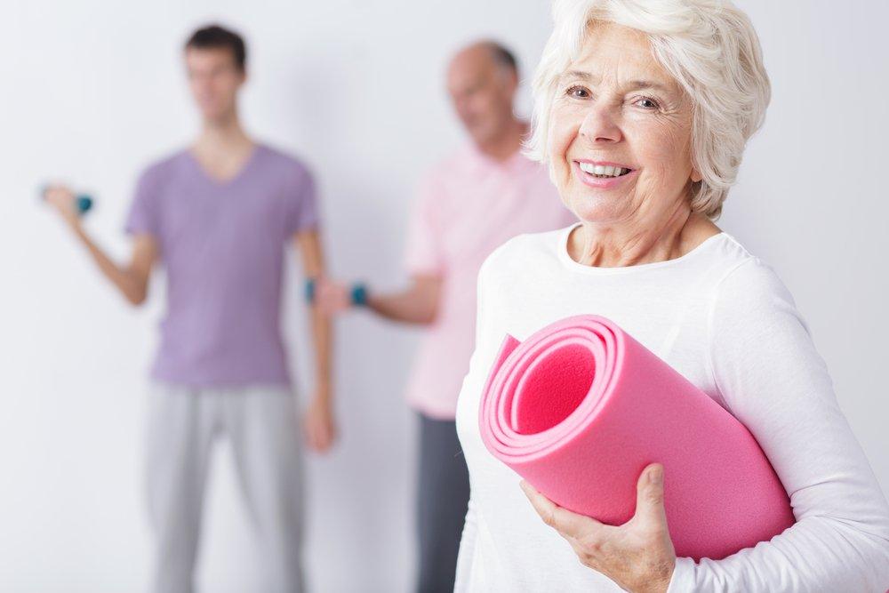 Двигательная активность после 60: выбор упражнений