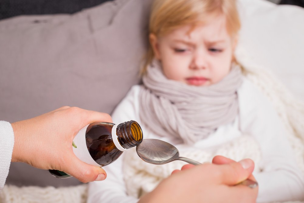 Лечение заболеваний верхних дыхательных путей у детей
