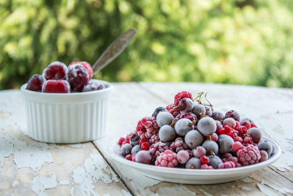 Рецепт заморозки ягод