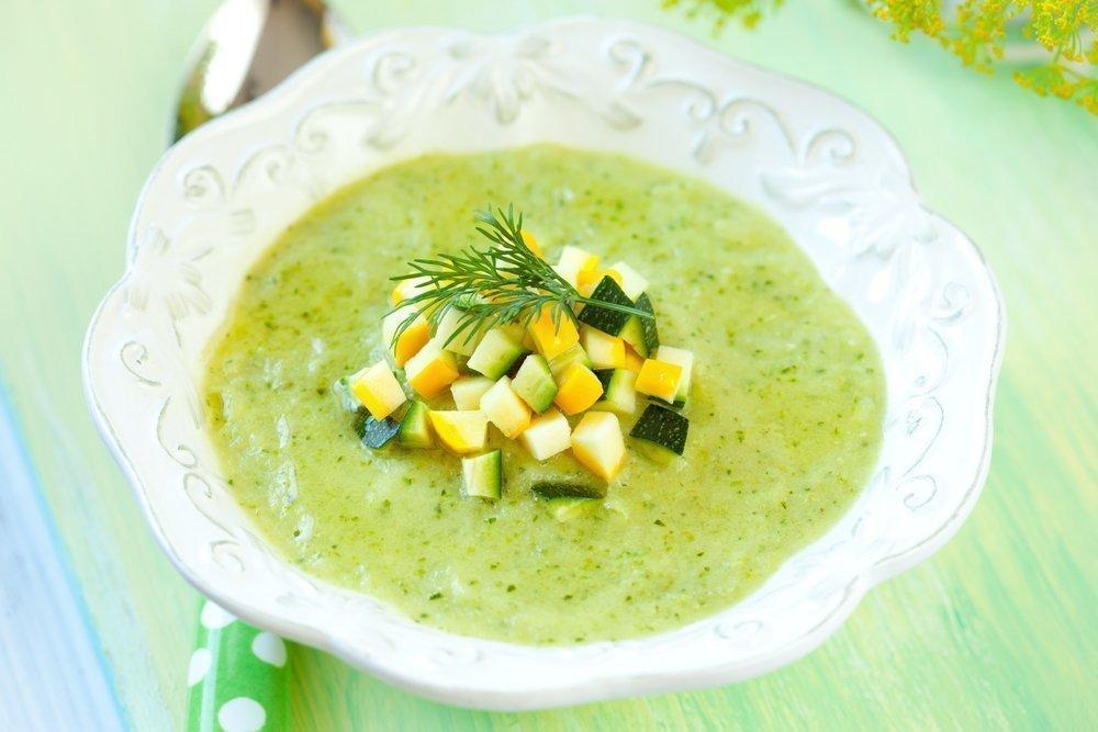 Рецепт крем-супа с зеленью