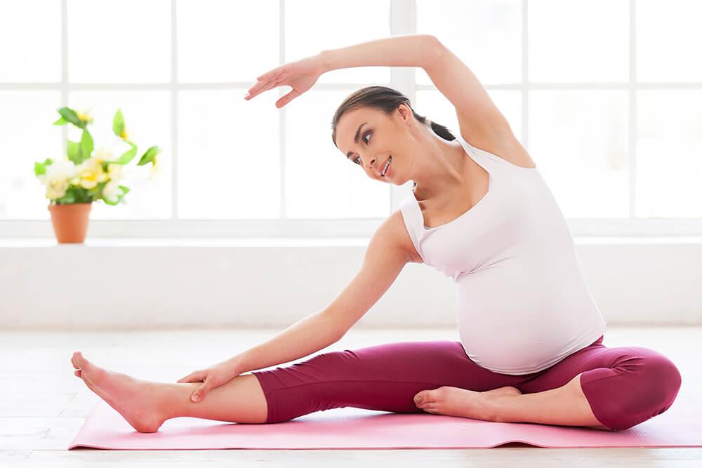 Упражнения беременным женщинам с