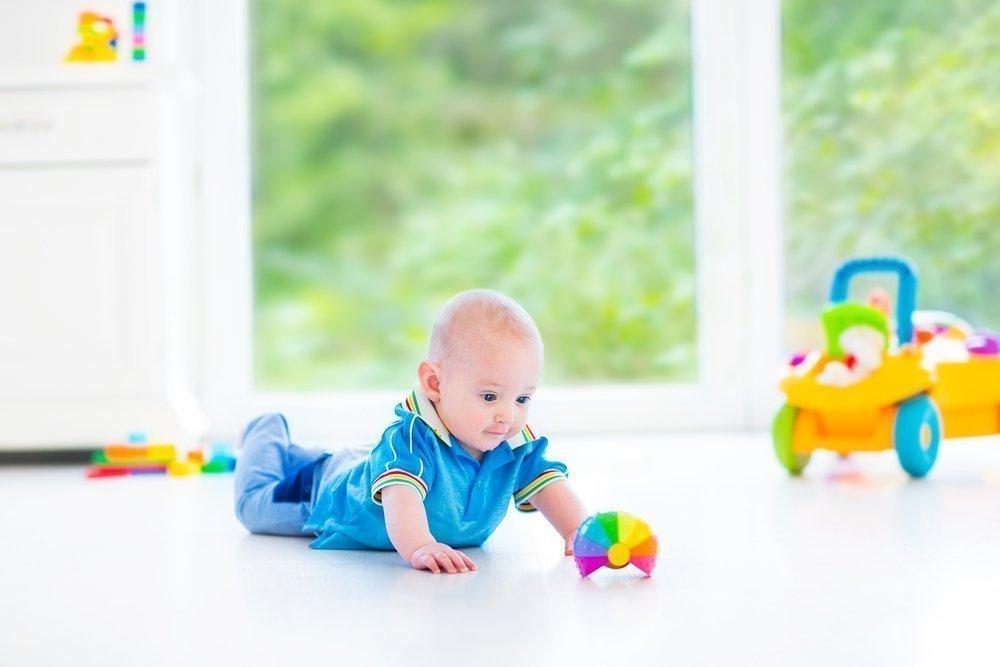 Насколько необходим навык ползания детям раннего возраста?