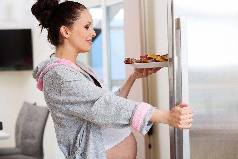 Простые углеводы во время беременности