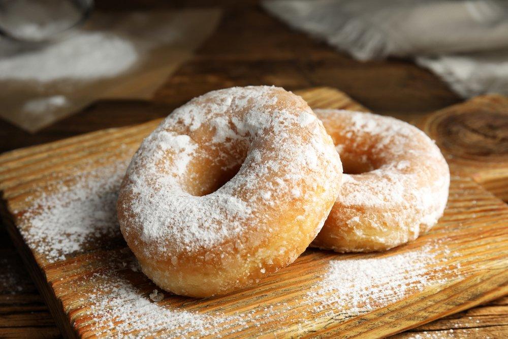 Классический рецепт пышных пончиков