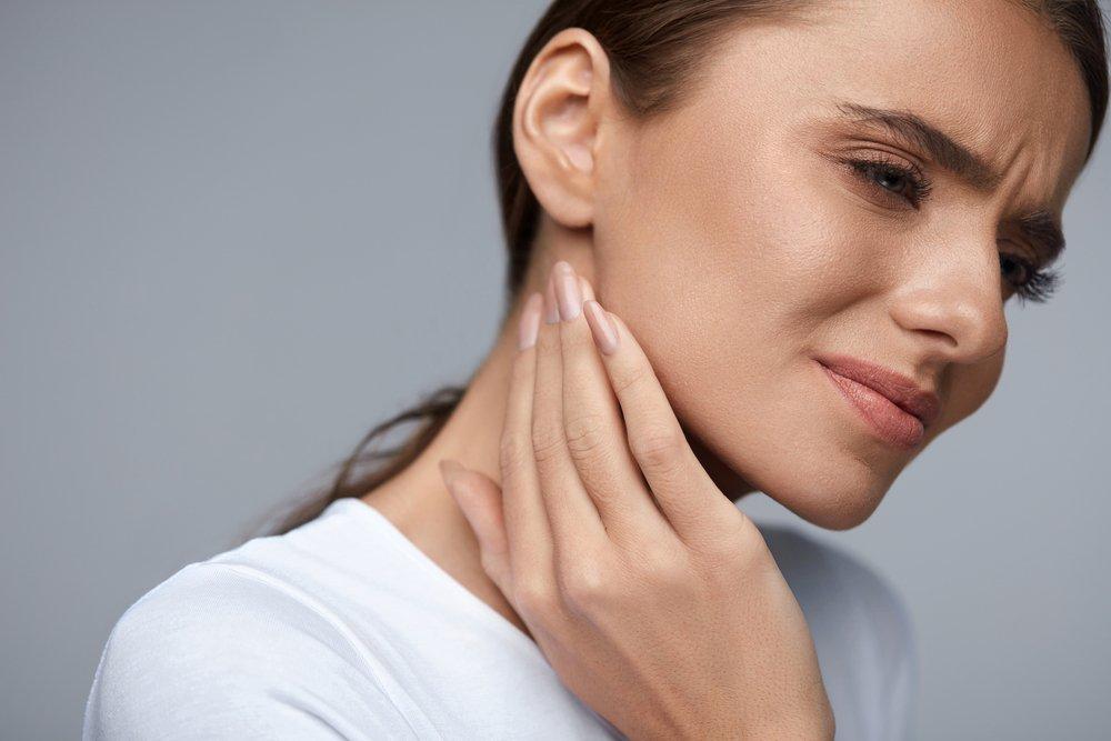 Симптомы миозита шеи: локальные боли