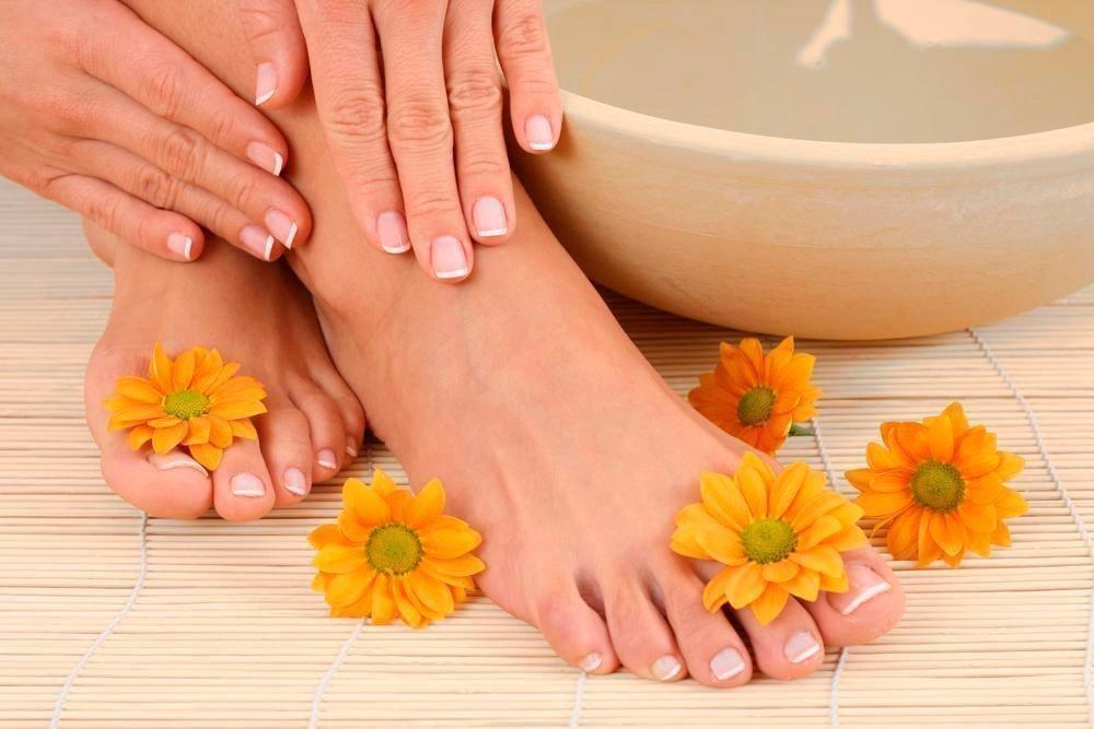 Контрастные ванночки для ухода за ногами