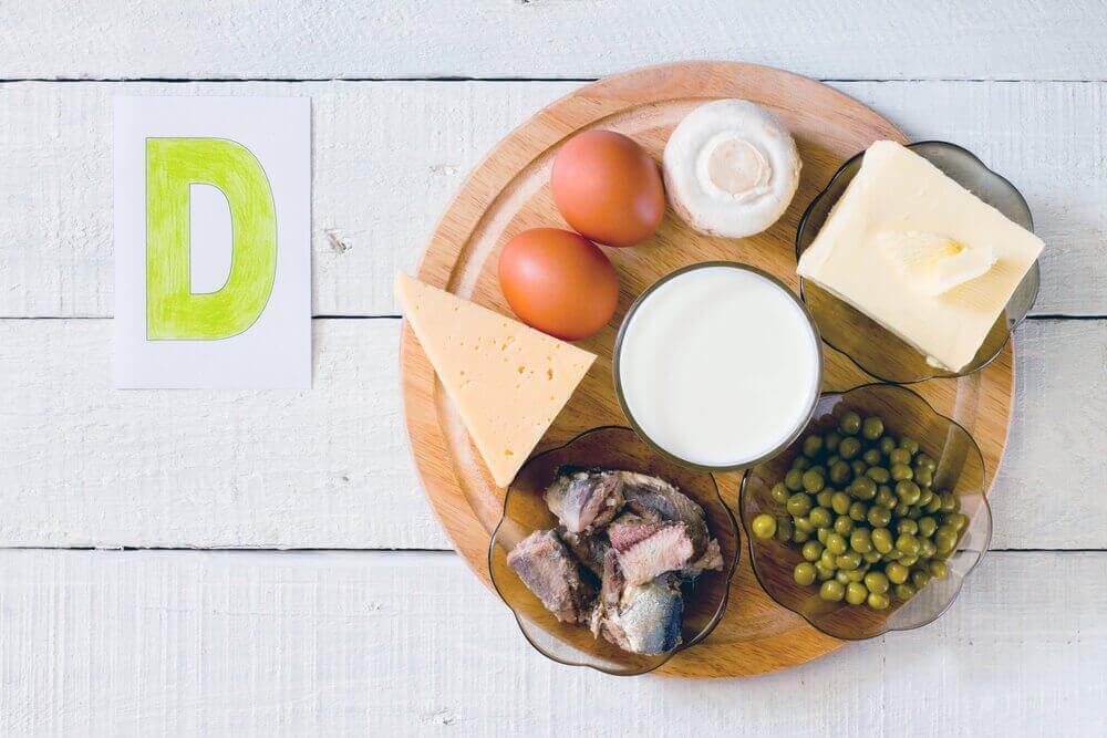 Питание как основной источник витаминов группы D