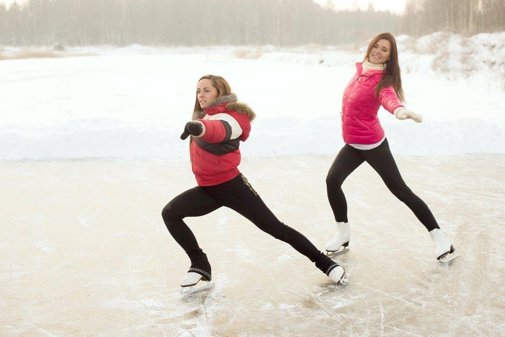Можно ли похудеть, катаясь на коньках?