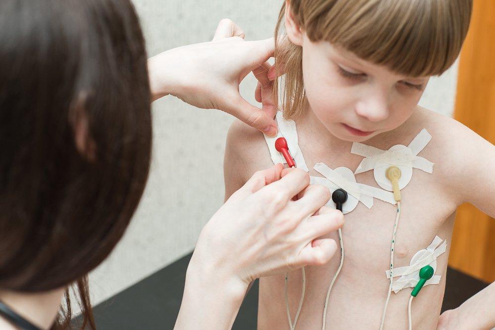 Проведение ЭКГ ребенку