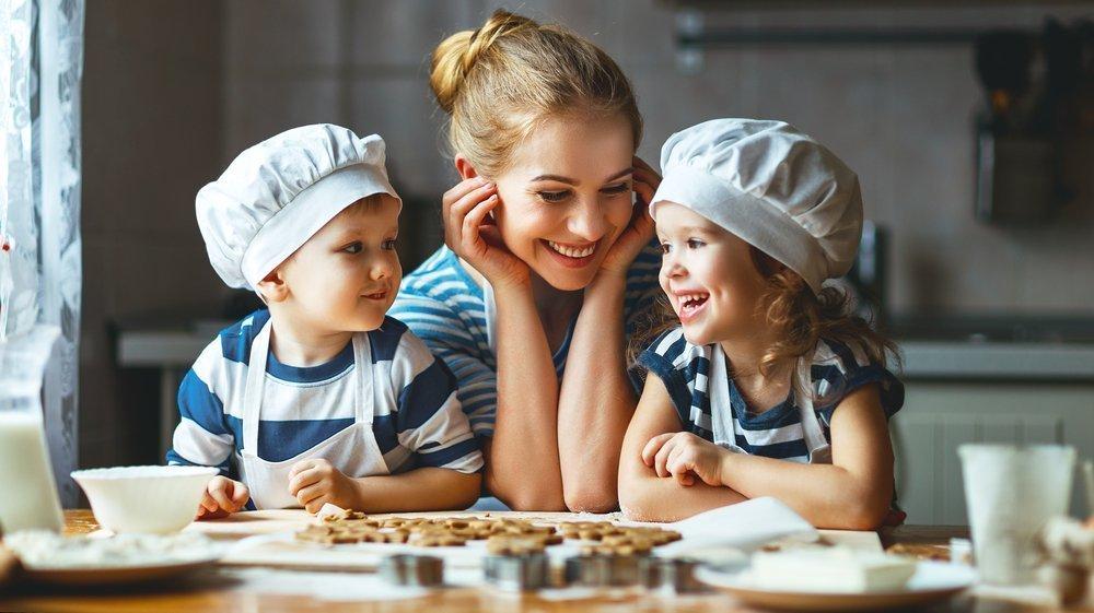 Привлекаем детей к процессу приготовления пищи