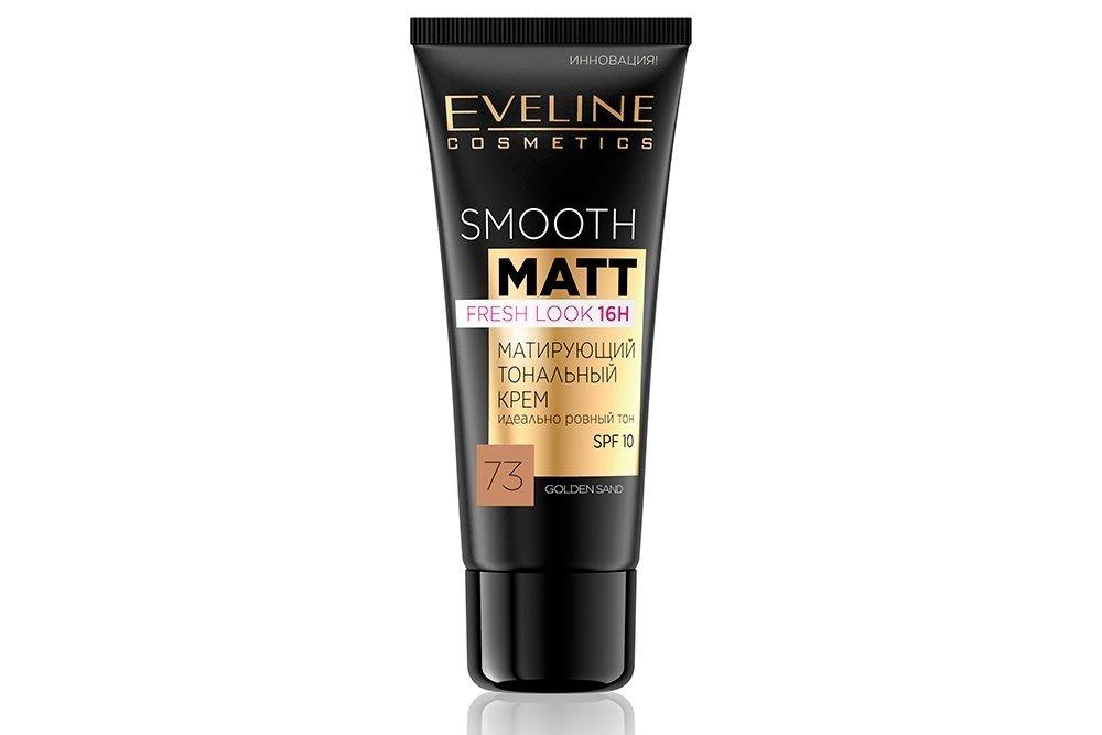 Тональный крем Smooth & Matt Fresh Look 16H, Eveline Cosmetics