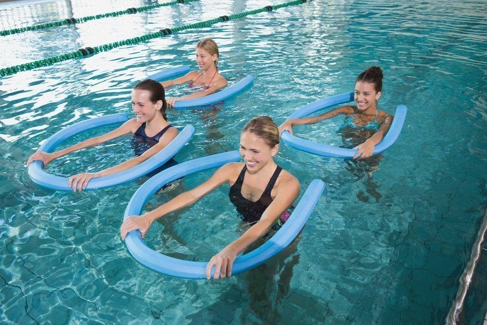 Водные фитнес-тренировки для похудения