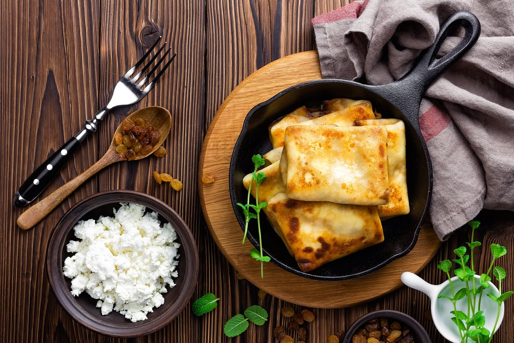 Питание детей: блюда с творогом в меню ребенка