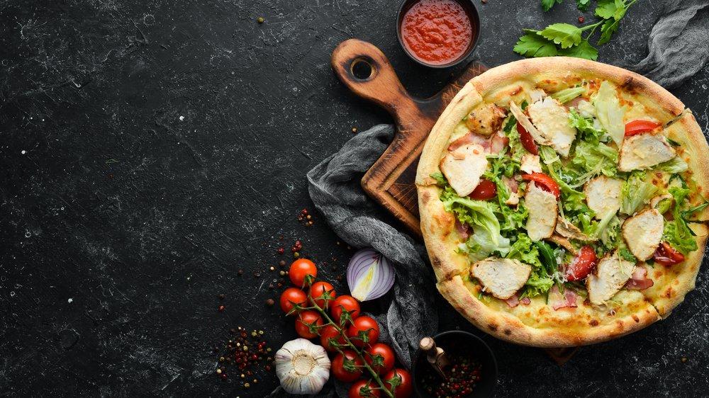 Классический рецепт пиццы с курицей