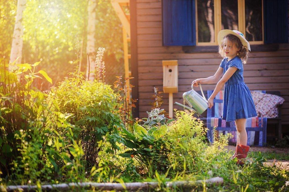 Ребенок-огородник