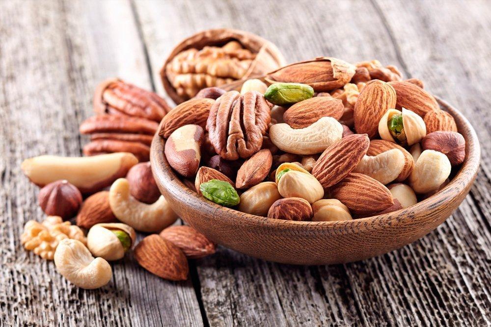 Орехи и другие продукты для замены мяса